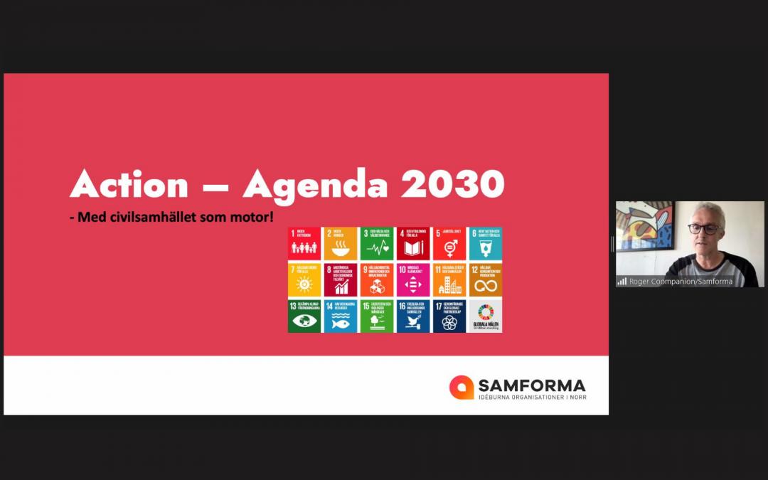 Action Agenda 2030 – nu gör vi!